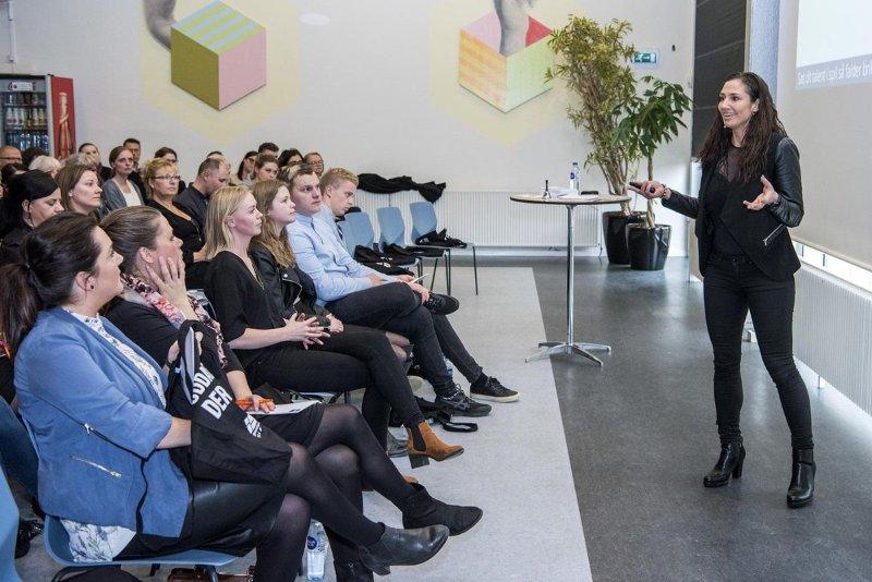 Public Speaking about Talents by Iris Engelund www.irisengelund.dk